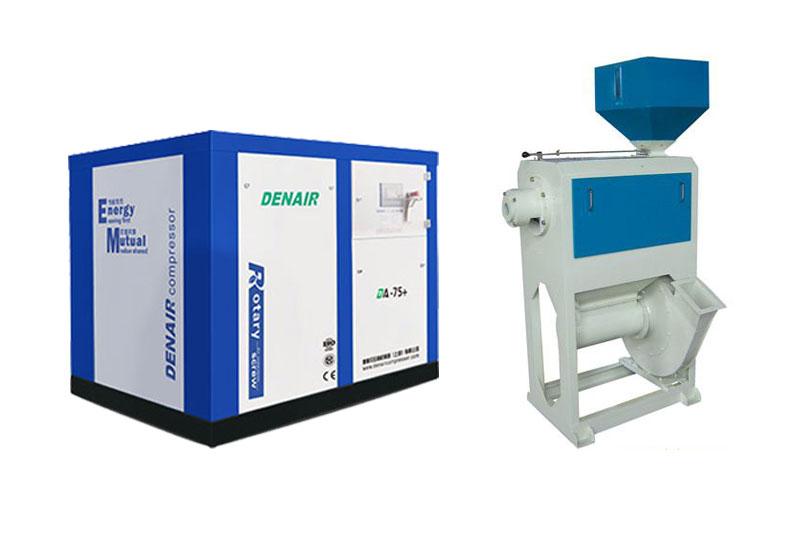 粮机设备配套专用空压机