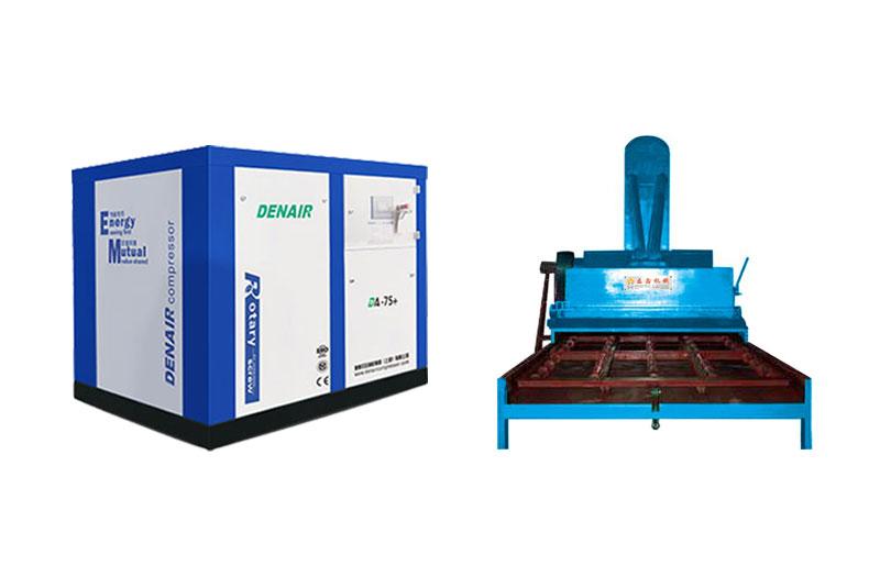 全自动喷砂设备配套专用空压机