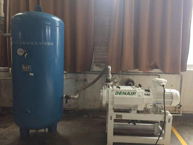 干式变螺距螺杆真空泵用于家居行业节能降噪