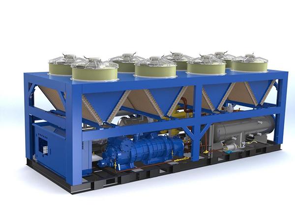 螺桿式超低環溫熱泵
