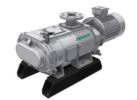三轴罗茨干式真空泵